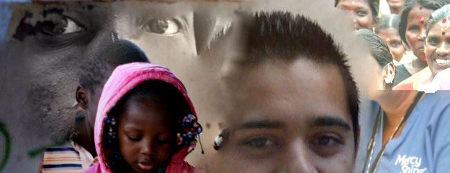 Mission montage of faces